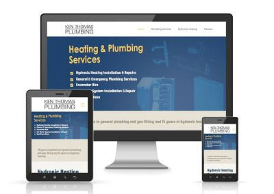 Ken Thomas Plumbing Website