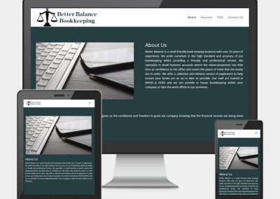 Better Balance Bookkeeping WebSite Project