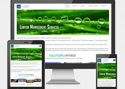Lanyon Management Service Website Project