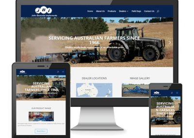 John Berends Implements Website