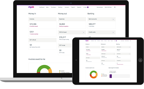 MYOB Tips Reporting July 2020